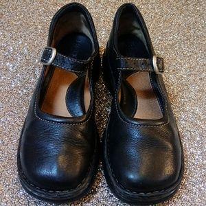 Born Black Leather Mary Janes